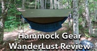 Hammock Gear WanderLust Hammock Kit Review