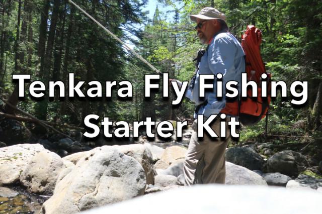 Tenkara Fly Fishing Starter Kit