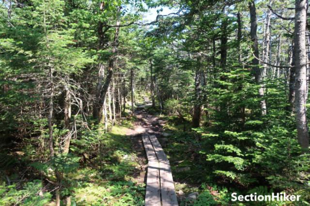 The Twinway run along the edge of the Pemigewasset Wilderness