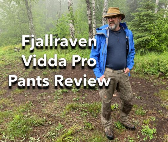 Fjallraven Vidda Pro Pants Review
