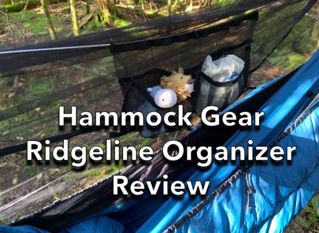 Hammock Gear Ridgeline Organizer Review