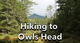 Hiking to Owls Head