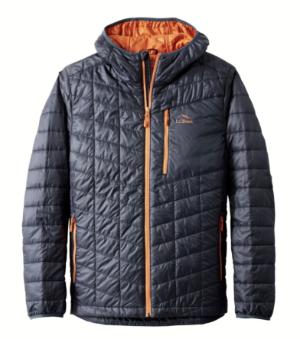 LL bean Primaloft Packaway Hooded Jacket
