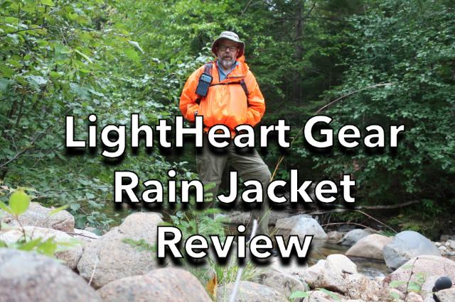 Lightheart Gear Rain Jacket Review 2021