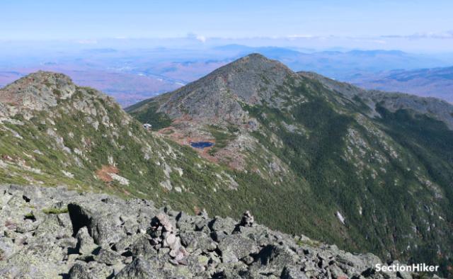 Mt Madison and the Star Lake tarn