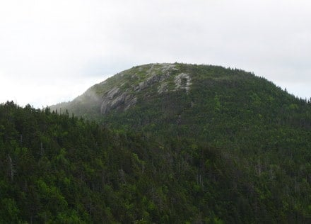 Goose Eye Mountain from the South, Appalachian Trail
