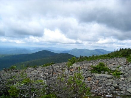 View from White Cap Mountain, Maine Appalachian Trail