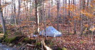 Camping near the Garfield Trail