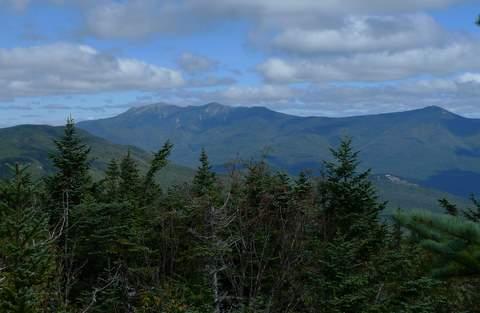 Franconia Ridge from Mt Wolf